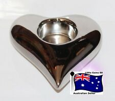 Yankee Candle ** LOVE IS IN THE AIR HEART **  Tealight Holder Simple & Elegant