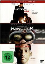 Triple Feature Will Smith - Das streben nach Glück + Hancock + 7 Leben (3 DVDs)