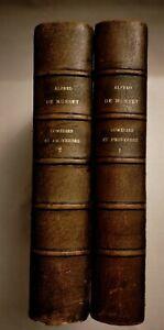 1928 COMÉDIES ET PROVERBES 2 VOL ALFRED DE MUSSET, LIBRARIE DE FRANCE,
