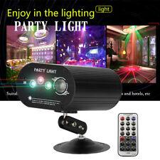 RGB Laser Projektor Bühnenbeleuchtung Show Partylicht Disco Xmas Halloween Lampe