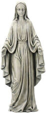 LARGE - VIRGIN MARY OUR LADY STATUE GRAVE ORNAMENT - PICTURES AND CANDLES LISTED