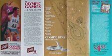 1976 MONTREAL OLYMPIC GAMES POCKET SCHEDULE (SCHLITZ
