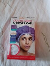 Double Sided Shower Cap Premium Collection By Donna