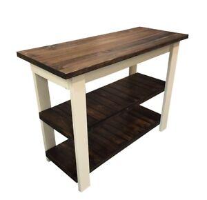 Essex Kitchen Island Work Space / Kitchen Storage / Bakers Table / Work Station)