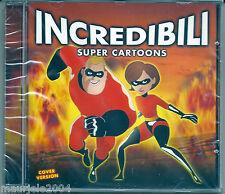 Incredibili Super Cartoons (2005) CD NUOVO Magica Doremi. Spiderman. Supereroi.
