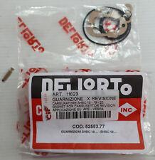 GUARNIZIONE CARBURATORE + SPILLO A 3 SHBC 16 18 19 APE VESPA DELLORTO 52553.77