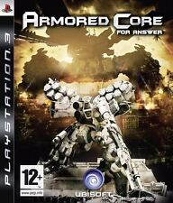 Armored Core for Answer PS3 (in Great Condition)