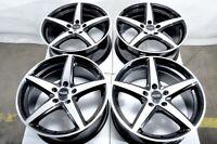 """17"""" Wheels BMW 128 135 228 230 318 320 323 325 328 340 Paceman Black Rims 5x120"""