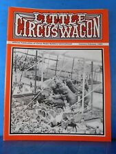 Little Circus Wagon 1989 January February Circus Model Builders International