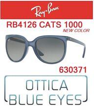 Occhiali da Sole RAY BAN SUNGLASSES RB 4126 630371 RAYBAN CATS 1000 NEW COLORS