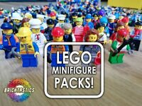 LEGO CITY MINIFIGURES X10 BULK PACKS - AFFORDABLE + INCLUDES ACCESSORIES!