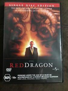 Red Dragon (2002) DVD Universal - Anthony Hopkins, Edward Norton - like new