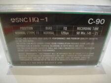 SNC HQ-1 BLANK Audio TAPE/Cassete SEALED