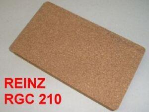 Gummikork (qm=233,24€) RGC210 Dichtung Reinz Benzin ÖL Lauge Ölwanne 245x140mm