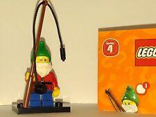 LEGO® Minifigures 8804 - Serie 4 - Gartenzwerg - Minifigur - Vitrinenmodel
