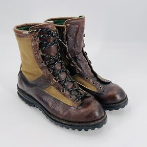 Danner Gortex 400gr Canvas & Leather Insulated Hunter / Hiking Boots 11 EE 65600