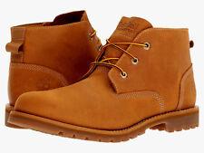 Timberland Larchmont Sz US 13 M Wheat Leather Waterproof Chukka Mens Boots $140