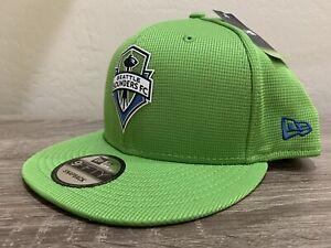 New Era Seattle Sounders FC On Field 9FIFTY Snapback Cap NWT Hat