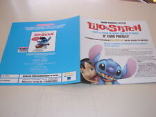 ELVIS PRESLEY LILO & STICH!!!!!!!!RARE FRENCH PRESS/KIT