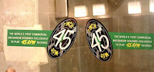 """7"""" 45 RPM Dome Decals for Seeburg"""