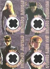 2000 X-MEN THE MOVIE   MEMORABILIA COSTUME Card SET (4)