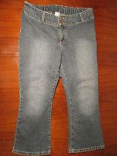 Motherhood Maternity capri denim jeans M cropped Womens