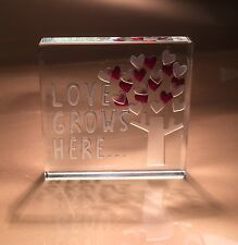 Spaceform Love Grows Here Valentines Romantic Love Gift Ideas For Her Him 1878