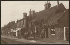 More details for berkshire. cookham. royal exchange. chap reading newspaper in horse drawn van rp