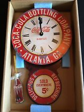 "Timeworks COCA-COLA®  ARROW CLOCK ~ 11 1/2"" x 31"" New in Box Made in USA"