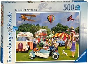 Ravensburger 14810 Festival Of Nostalgia 500 Piece Jigsaw Puzzle  Vintage Retro