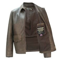 Raiders of Lost Ark Leather Jacket in Pre Distressed Hide