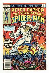 Spectacular Spider-Man Peter Parker #9 FN/VF 7.0 1977
