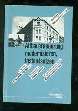 Altbauerneuerung modernisieren instandsetzen  Berliner Althaus-Handbuch