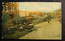 1905 Postcard-Washington Street, Looking North, Marion, Alabama