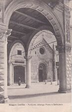 REGGIO EMILIA - Porticato Albergo Posta e Battistero 1918