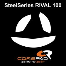 Corepad Skatez Replacement Mouse Feet SteelSeries Steel Series Rival 100
