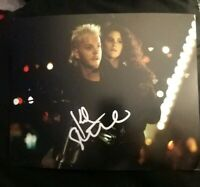 KIEFER SUTHERLAND SIGNED 8X10 PHOTO LOST BOYS W/COA+PROOF RARE WOW