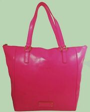 MARC JACOBS TAKE ME Hot Pink Patent Leather Tote Bag Msrp $228.00 * 75% OFF *