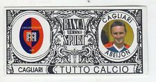 figurina - TUTTO CALCIO EURO MONETE  - CAGLIARI ABEIJON