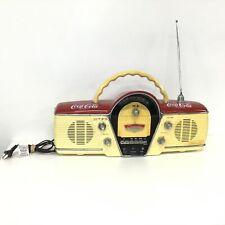 Vintage Coca-Cola Ghettoblaster Classic Radio / Cassette Player #404