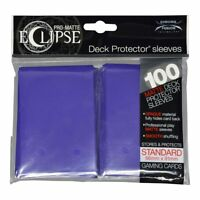 Ultra Pro Pro-Matte Eclipse 2.0 Standard Protector Sleeves - Royal Purple (100)