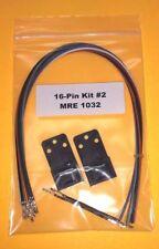 Kit 2 Accy Plug 16 Pin Motorola Maxtrac GM300 Repeater