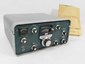 Heathkit SB-301E Vintage Ham Radio Receiver w/ Two Filters (original, untested)