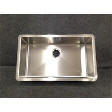 Kraus KHU100-30 Stainless Steel Undermount Single Bowl Kitchen Sink, 30