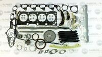 TIMING CHAIN HEAD GASKET SET HEAD BOLTS FOR MAZDA 3 6 CX-7 2.2 DIESEL ENGINE