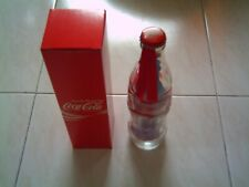 Coca Cola Singapore 40th Birthday Glass Bottle