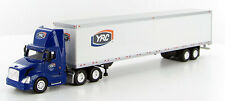 1/87 HO Scale Volvo VNL 300 YRC Freight Day Cab w/53' Van Trailer Tonkin SP725