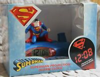Superman Projection Alarm Clock - New, Hard to Find in this condition!