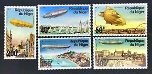Niger C273-7 Zeppelin Set CTO OG 1976