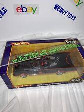 Hot Wheels 1966 TV Series Batmobile 1:18 Scale Diecast George Barris Batman Car